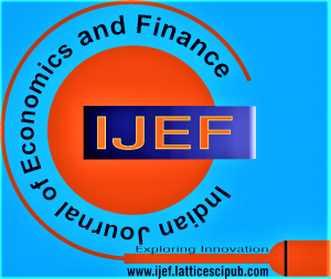 Indian Journal of Economics and Finance (IJEF)